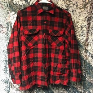 Pendleton Flannel Button Up Long Sleeve Shirt